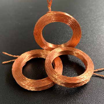 Bonded coil