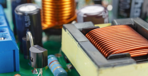 Coiltek Electronics transformer in use